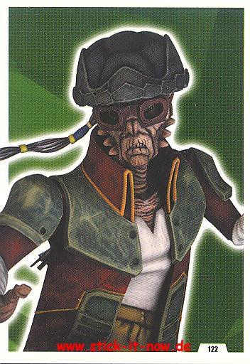 Force Attax - Star Wars - Clone Wars - Serie 5 - Puzzle 3 Teil 3 - Nr. 122