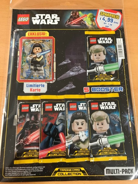 Lego Star Wars Trading Card Collection (2018) - Multipack 1 ( LE7 )