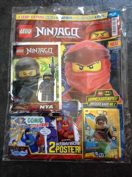 Lego Ninjago Magazin Nr. 51 (mit Lego Figur und LE2 von Batman)
