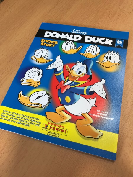 "85 Jahre Donald Duck ""Sticker-Story"" (2019) - Stickeralbum"
