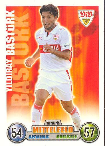 Yildiray Bastürk - Match Attax 08/09 - VfB Stuttgart