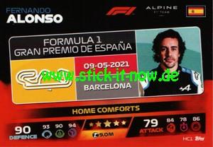 "Turbo Attax ""Formel 1"" (2021) - Nr. HC 1"