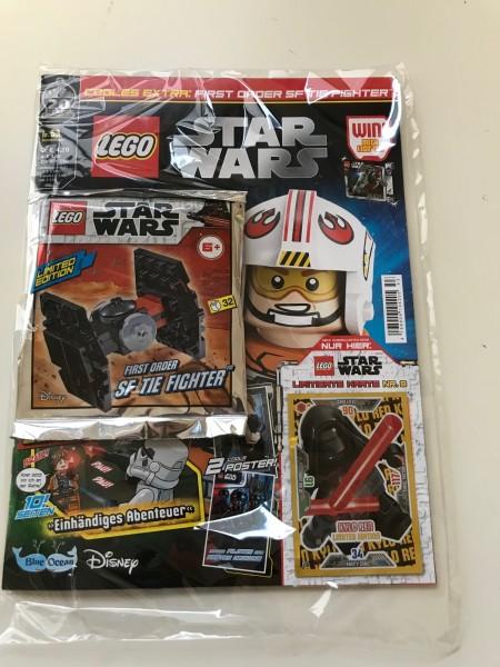 Lego Star Wars Magazin Nr. 53 (mit Lego Figur und LE 8 )
