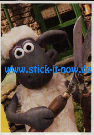 """Aldi Nord - Shaun das Schaf """"Sticker"""" - Nr. 156"""