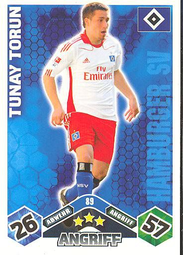 Match Attax 10/11 - TUNAY TORUN - 089