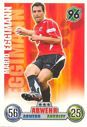 Mario Eggimann - Match Attax 08/09 - Hannover 96