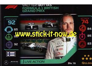 "Turbo Attax ""Formel 1"" (2020) - Nr. 78"