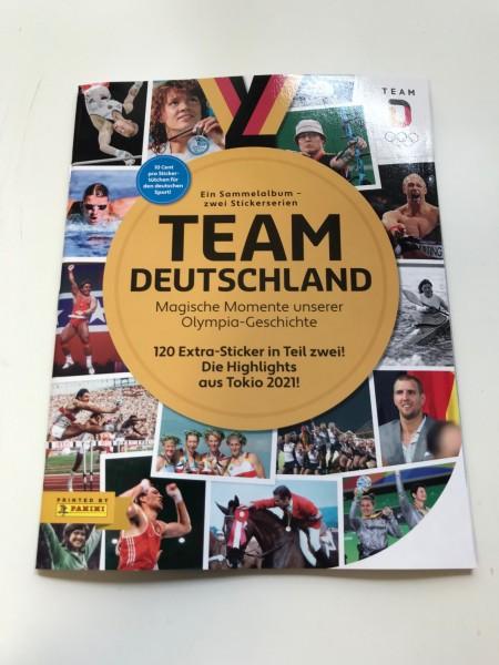"""Team Deutschland (2021) """"Teil 1 & 2"""" - Stickeralbum"""