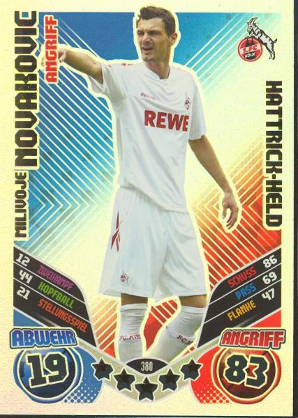 Milivoje Novakovic - Hattrick-Held - Match Attax 11/12