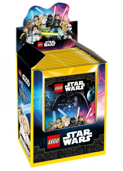 """Lego Star Wars """"Sticker-Serie"""" (2020) - Display (36 Tüten)"""