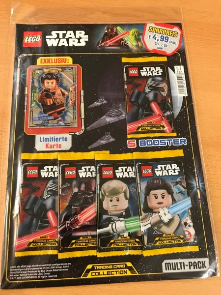 Lego Star Wars Trading Card Collection (2018) - Multipack 2 ( LE8 )