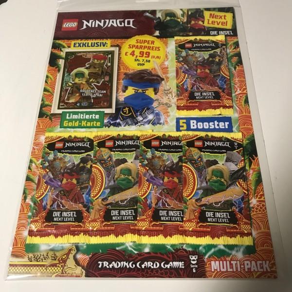 "Lego Ninjago Trading Cards - SERIE 6 ""Next Level"" (2021) - Multipack 4 (LE 18)"