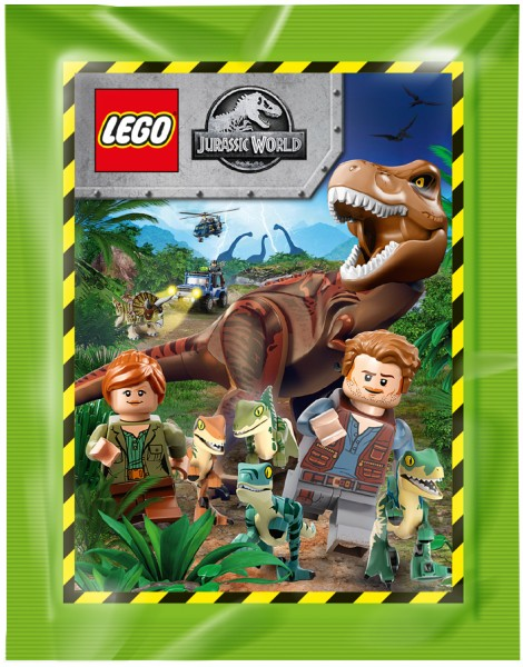 "LEGO ""Jurassic World"" (2019) - Stickertüte ( 5 Sticker )"