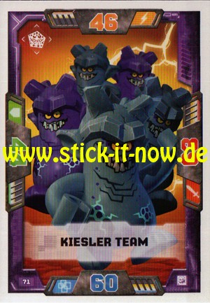 Lego Nexo Knights Trading Cards - Serie 2 (2017) - Nr. 71
