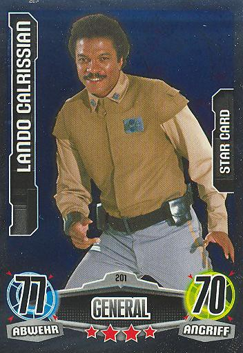 Force Attax - LANDO CALRISSIAN - General - STAR-CARD - Movie Collection