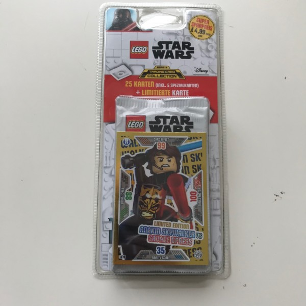 Lego Star Wars Trading Card Collection 2 (2019) - Blister 3 ( LE 19 )