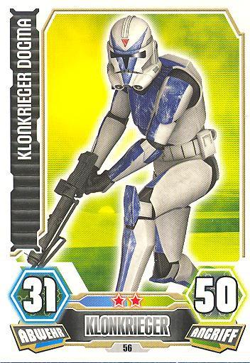 Force Attax - Serie 3 - Klonkrieger Dogma - Nr. 56