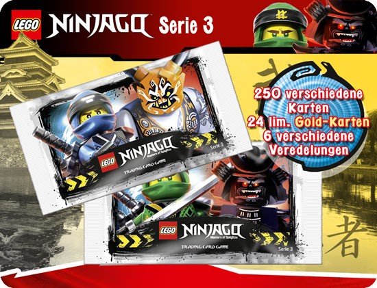 Lego Ninjago Trading Cards - SERIE 3 (2018) - Display ( 50 Booster )