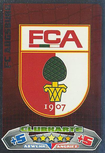 Match Attax 12/13 - FC Augsburg - Clubkarte - Nr. 1