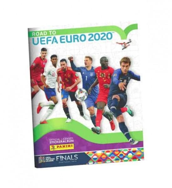 "Road to UEFA EURO 2020 ""Sticker"" - Stickeralbum"