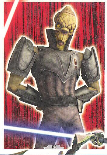 Force Attax - Serie 3 - Strike-Force - Sith 4/9 - Nr. 178