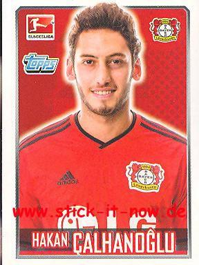 Topps Fußball Bundesliga 14/15 Sticker - Nr. 165