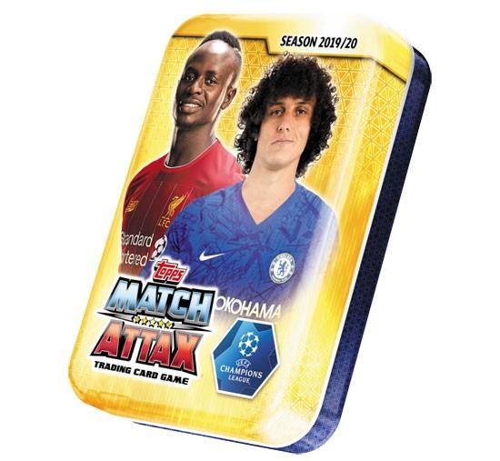 Match Attax Champions League 2019/20 - Mini Tin Dose ( Luiz )
