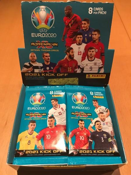 UEFA EURO 2020 Adrenalyn XL Kick Off (2021) - Display ( 24 Booster )