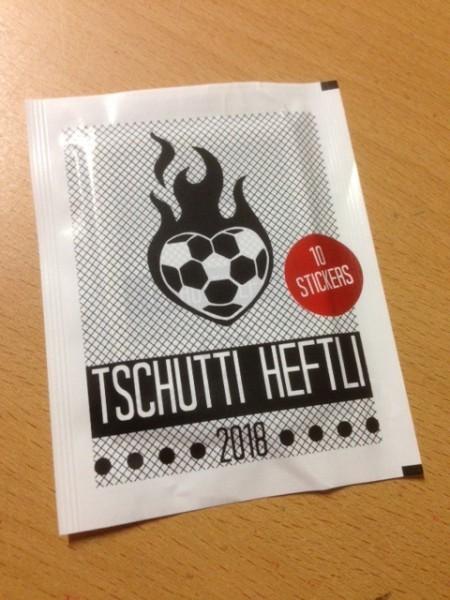 Tschutti Heftli - WM 2018 Russland - Stickertüte (10 Sticker)