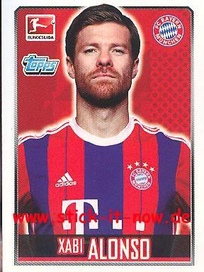 Topps Fußball Bundesliga 14/15 Sticker - Nr. 207