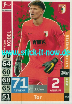 """Topps Match Attax Bundesliga 18/19 """"Extra"""" - Nr. 552"""