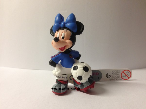 Bullyland Disney Goal WM 2014 Figur - Minnie Maus (Italien)
