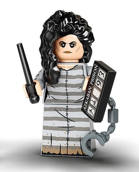 """Lego Minifiguren """"Harry Potter"""" Serie 2 (2020) - Bellatrix Lestrange - Nr. 12"""