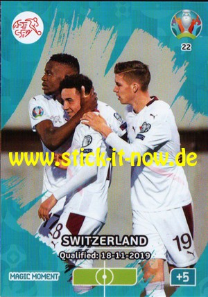 UEFA EURO 2020 Adrenalyn XL - Nr. 22