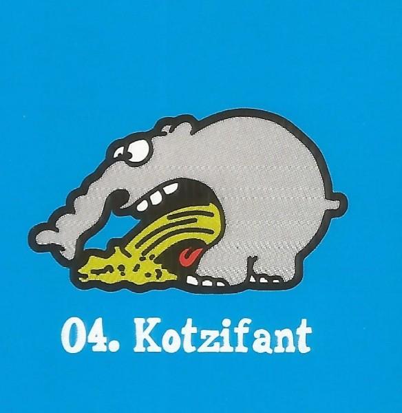 Edeka Ottifanten (2020) - Nr. 4 Kotzifant