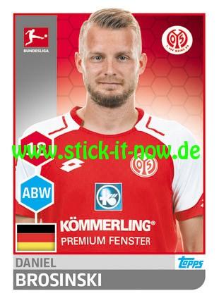 "Topps Fußball Bundesliga 17/18 ""Sticker"" (2018) - Nr. 189"