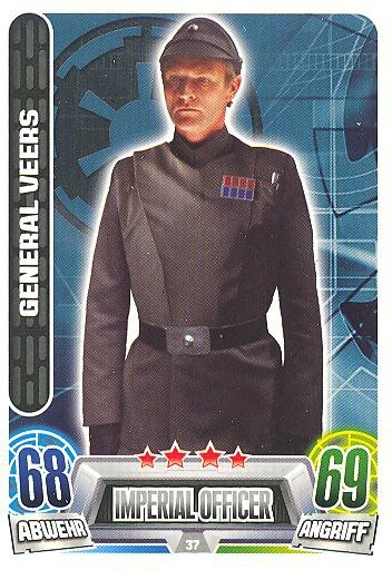 Force Attax Movie Collection - Serie 2 - General Veers - Nr. 37
