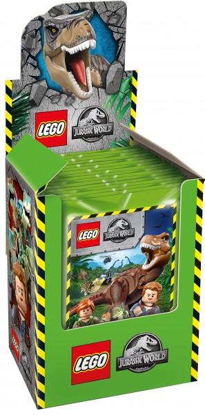 """LEGO """"Jurassic World"""" (2019) - Display ( 50 Stickertüten )"""