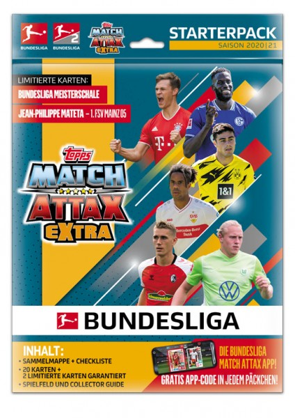 "Topps Match Attax Bundesliga 2020/21 ""Extra"" - Starter-Set"