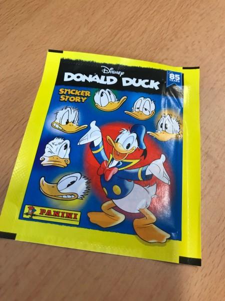 """85 Jahre Donald Duck """"Sticker-Story"""" (2019) - Stickertüte"""