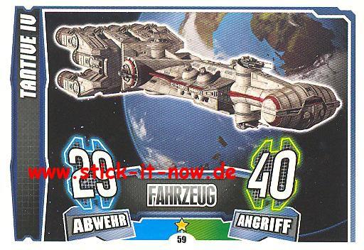 Force Attax - Star Wars - Clone Wars - Serie 4 - TANTIVE IV - Nr. 59