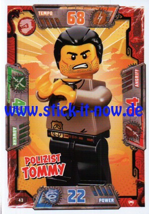 Lego Ninjago Trading Cards - SERIE 2 (2017) - Nr. 43