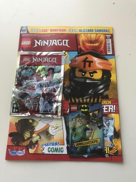 Lego Ninjago Magazin Nr. 52 (mit Lego Figur & Lego Batman Booster)