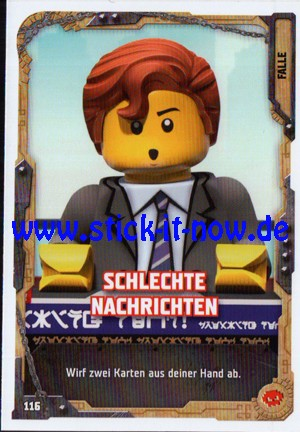 "Lego Ninjago Trading Cards - SERIE 5 ""Next Level"" (2020) - Nr. 116"