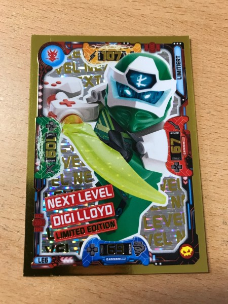 "Lego Ninjago Trading Cards - SERIE 5 ""Next Level"" (2020) - Nr. LE6"