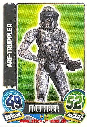 Force Attax - Star Wars - Clone Wars - Serie 5 - ARF-Truppler - Nr. 37