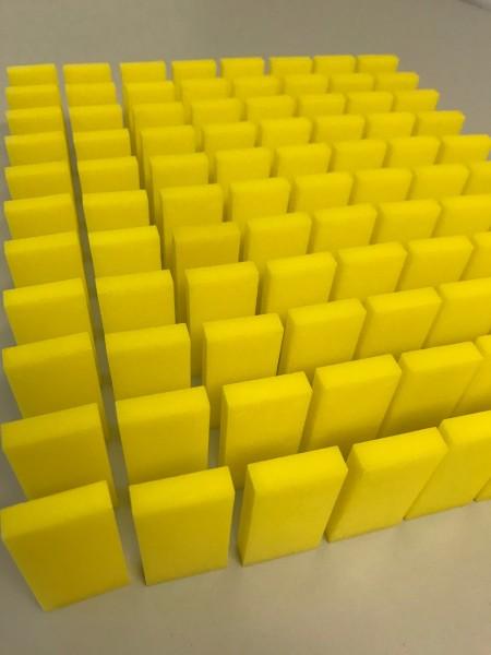 """100 Dominosteine - """"Gelb"""""""
