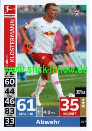 "Topps Match Attax Bundesliga 18/19 ""Action"" - Nr. 397"