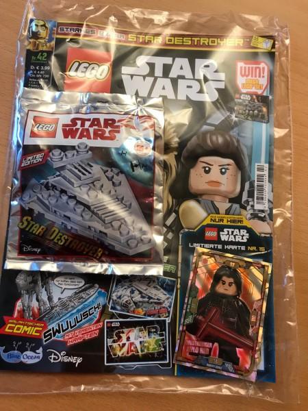 Lego Star Wars Magazin Nr. 42 (mit Lego Figur und LE15)