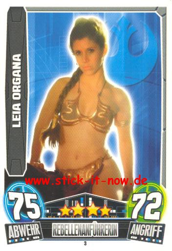 Force Attax Movie Collection - Serie 3 - LEIA ORGANA - Nr. 3